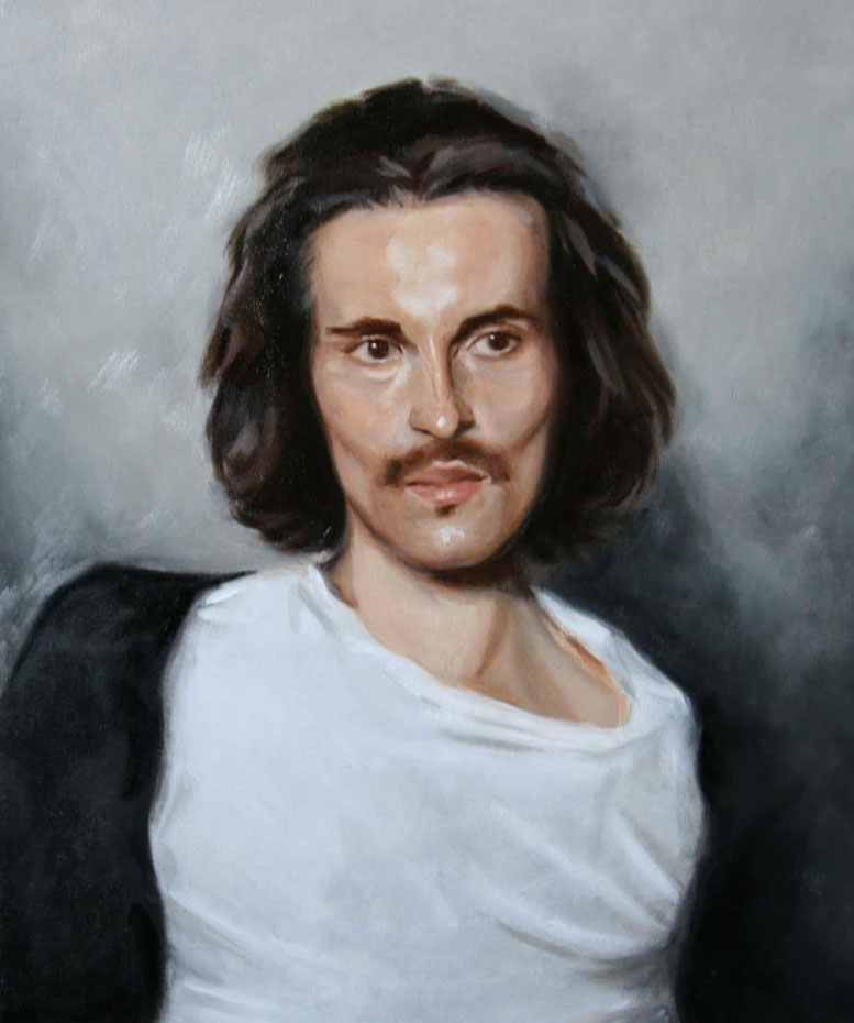 oil painting Portrait of man